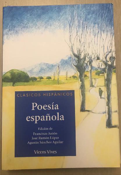 Poesía española. clásicos hispánicos.