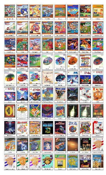 Regalo catálogo de juegos msx de konami en pdf