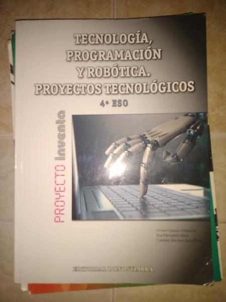Tecnología programación y robótica. 4 eso