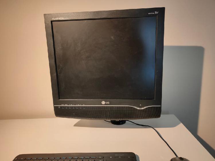 Monitor ordenador y tv de 17'' pulgadas con pie