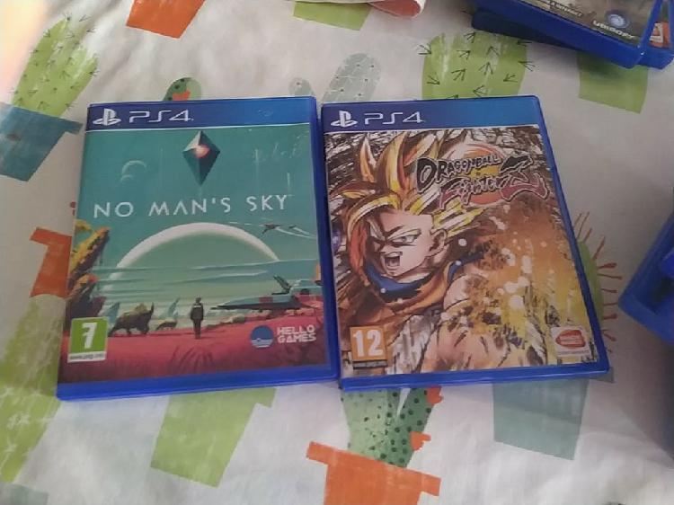 No man's sky y dragon ball fighter z