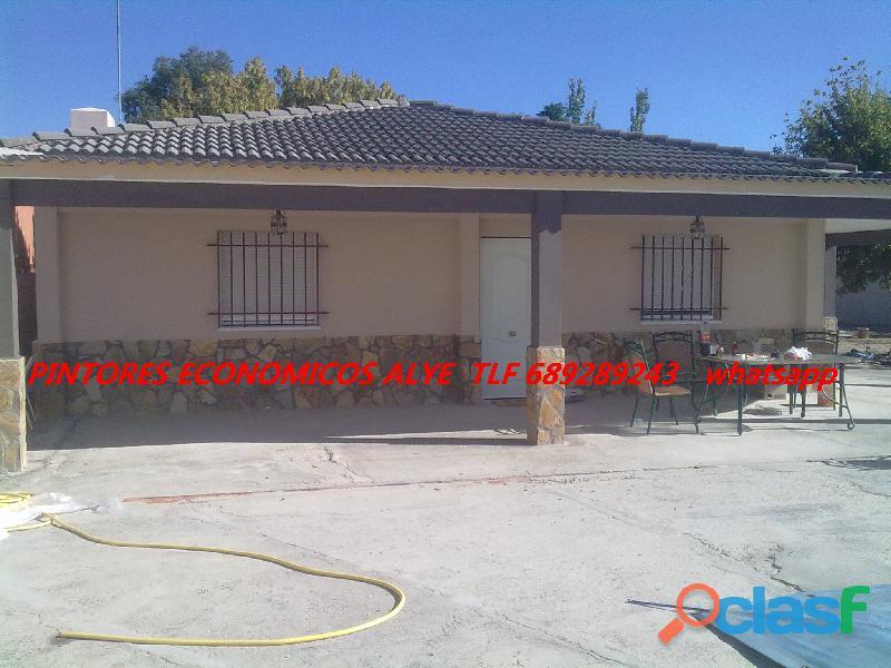 PINTORES EN VALDEMORO DTOS. EN EXTERIOR DE REJAS. 689289243 ESPAÑOLES 11