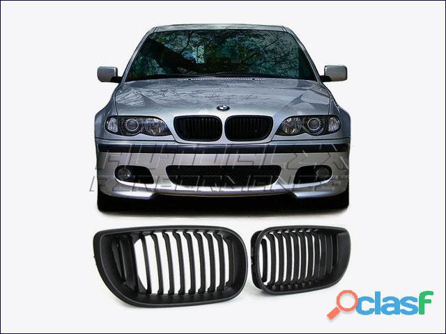 Rejillas Negro Delante BMW E46