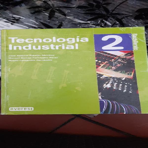 Tecnologia industrial 2 bachillerato