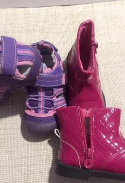 3 pares de zapatos t. 21