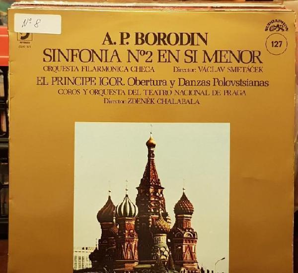 A.p. borodin sinfonia n1º 2 en si menor - filarmonica checa