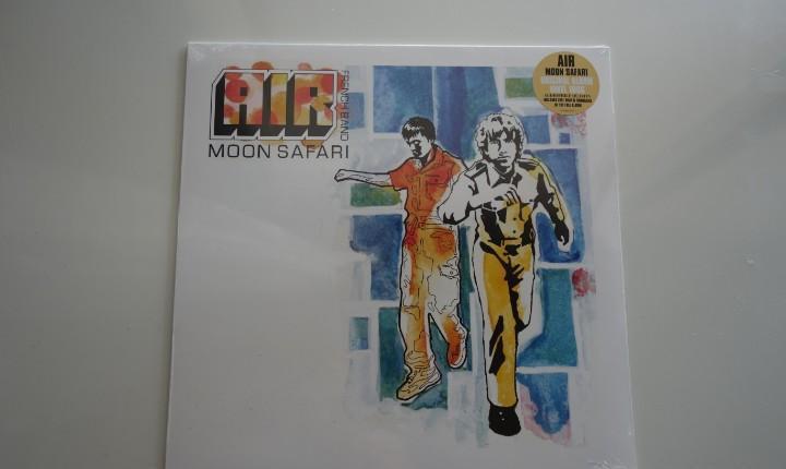 Air: moon safari. lp vinilo. precintado!!
