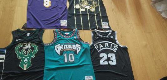 Camisetas basket y nfl nuevas
