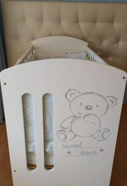 Cuna sweet bear blanco - micuna