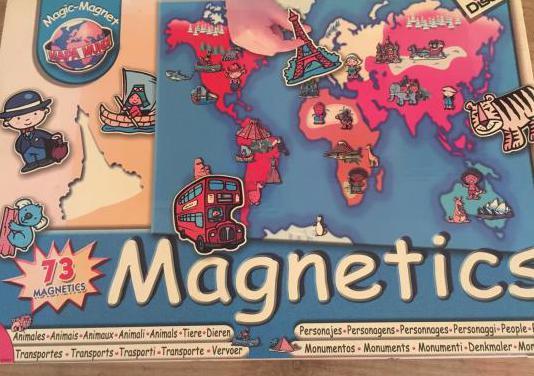 Diset magnetics mapamundi