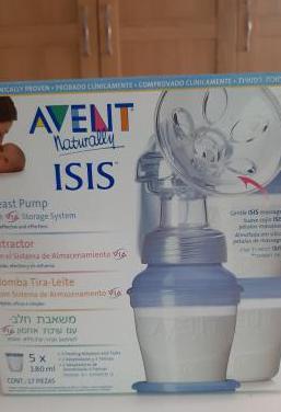 Extractor leche materna manual