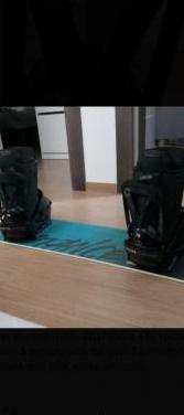 Fijaciones y botas snowboard