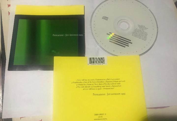Joy division 1995 - permanent cd london eu new wave post