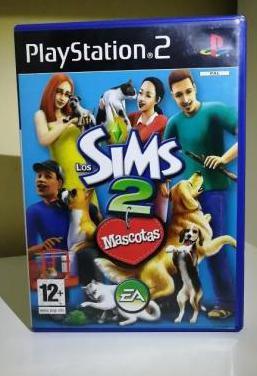 Juego los sims 2 mascotas para play station 2