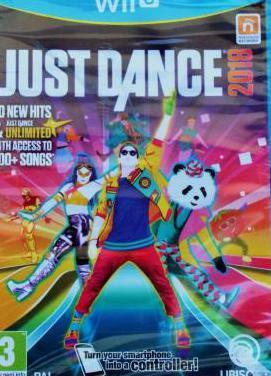 Juego nuevo just dance 2018 wii u . sin abrir