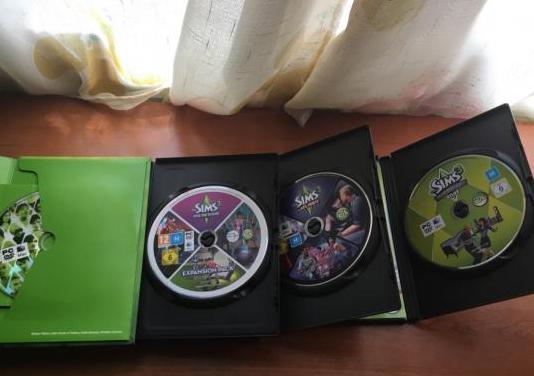 Los sims 3 pc y 3 discos complementos