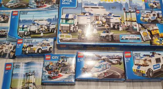 Lego city superpack policía