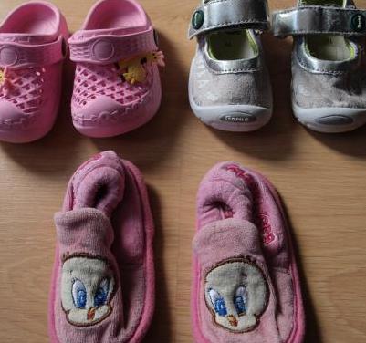 Lote calzado verano niña nº 19