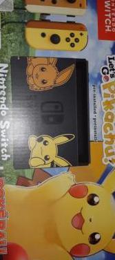 Nintendo switch edición pikachu