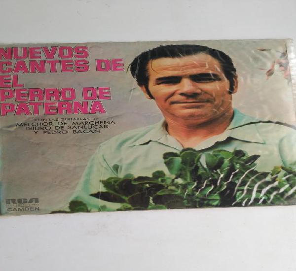Nuevos cantes de el perro de paterna. 1973. rca. melchor de