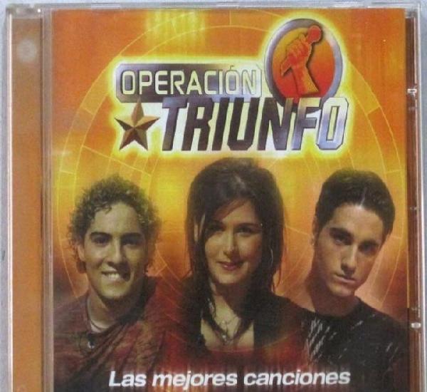 Operacion triunfo - las mejores canciones - varios - cd