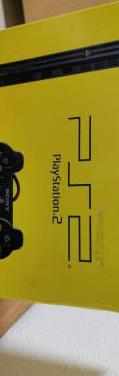 Ps2 slim en caja juegos