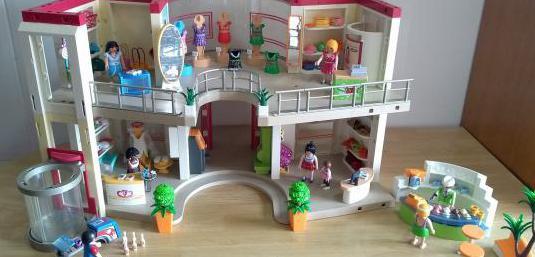 Playmobil centro comercial