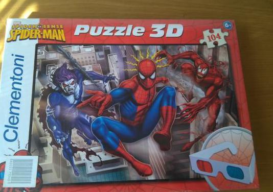 Puzzle espiderman 3d nuevo y precintado