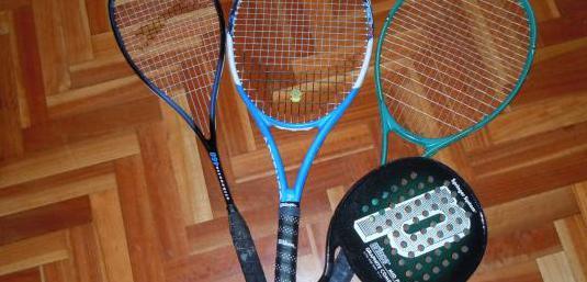 Raquetas, pala padel