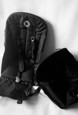 Silla y cesta bugaboo camaleon 3 negro