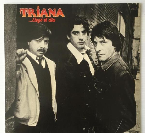Triana. llegó el dia. movieplay, 1983. rock.