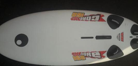 Tabla windsurf funboard bic sport core160