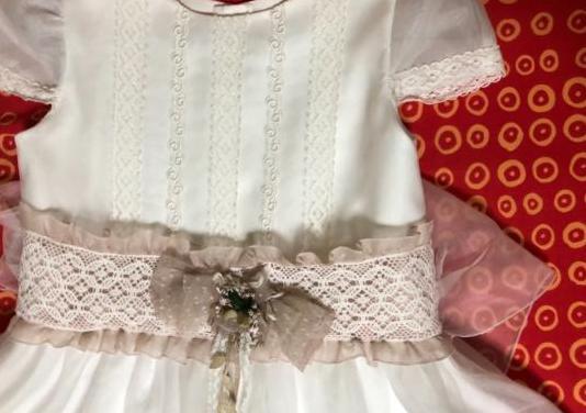 Vestido comunión niña talla 125