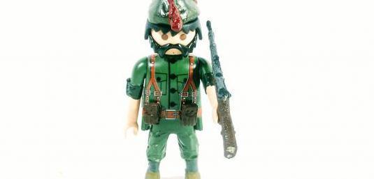 Custom playmobil soldado republicano