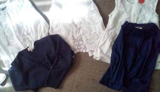 Lote camisas y chaquetas