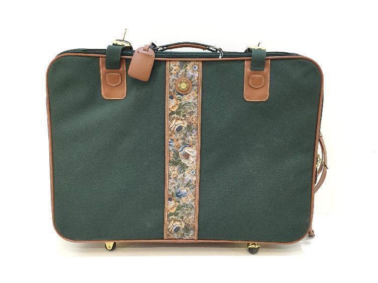 Maleta viaje otros maleta verde de tela
