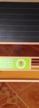 Pizarra de madera