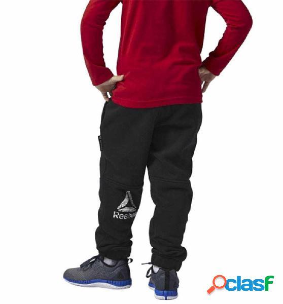 Pantalon fitness reebok b es fl pan m negro