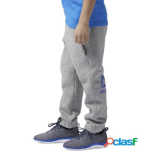 Pantalón niño fitness reebok b es f pan gris s