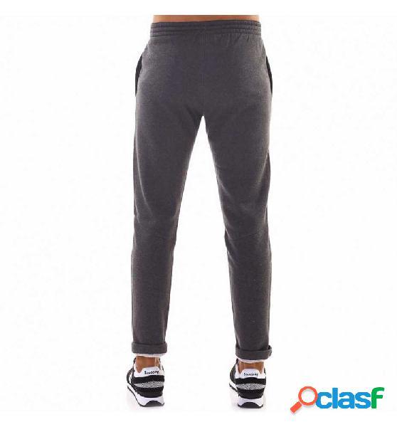 Pantalon largo casual champion pantalón recto con dobladillo gris l