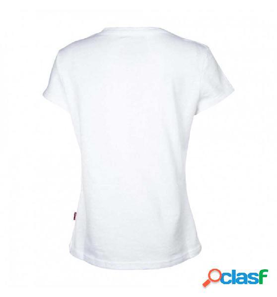 Camiseta m/c casual levis ss tee bisou 4 blanco