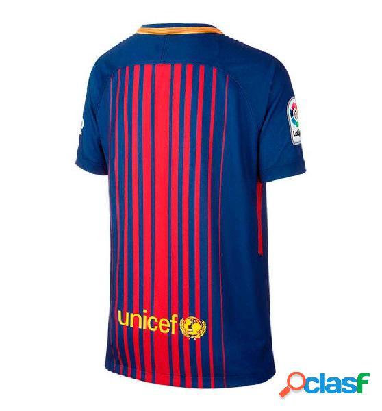 Camiseta m/c futbol nike m´fc barcelona stadium jersey azul marino s