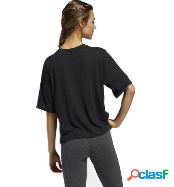 Camiseta m/c casual mujer adidas univ tee 1 w negro s