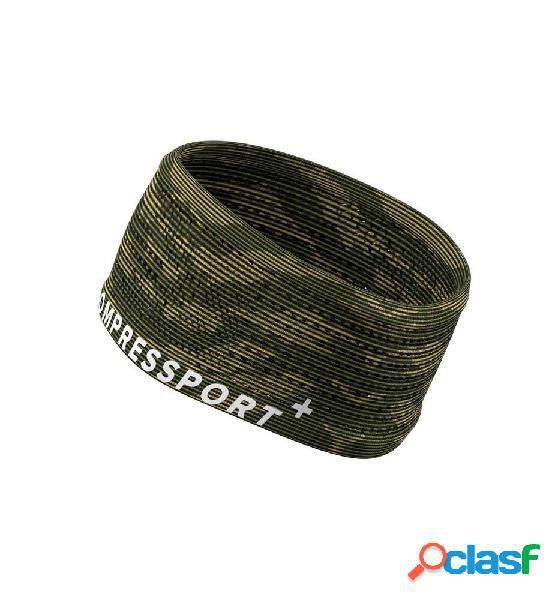 Cintas / muñequeras running compressport headband on/off unica verde