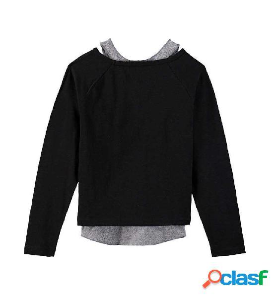 Camiseta casual levis niño 8 negro