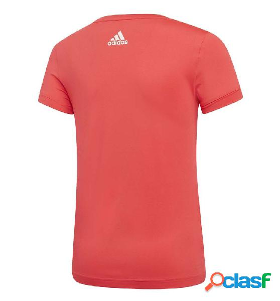 Camiseta m/c casual adidas yg tr ic tee 164 naranja