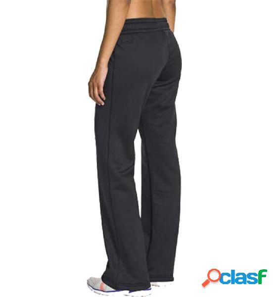 Pantalon largo fitness under armour negro s