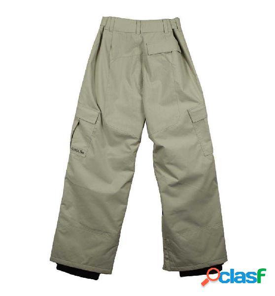 Pantalones ski y snowboard quiksilver ski novablast beige s
