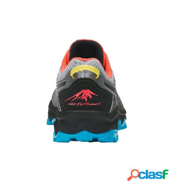 Zapatillas trail asics gel-fujitrabuco 7 42 gris