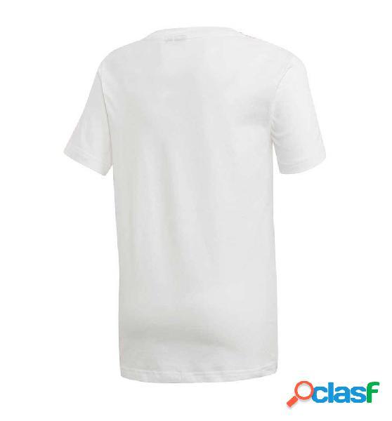 Camiseta casual niño adidas jb a aac tee 140 blanco